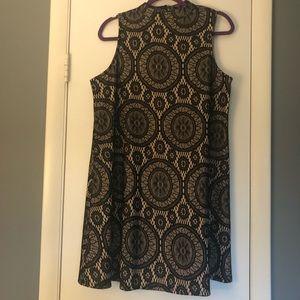 Boho lace shift dress